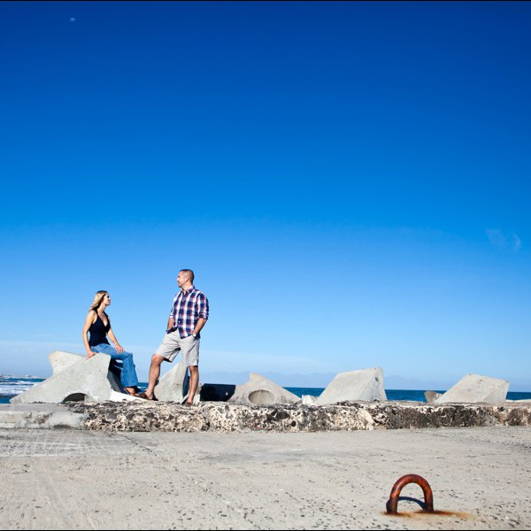 Eddie & Cilma - Kalk Bay Engagement shoot