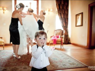 Absolute White Wedding - Mark & Genevieve