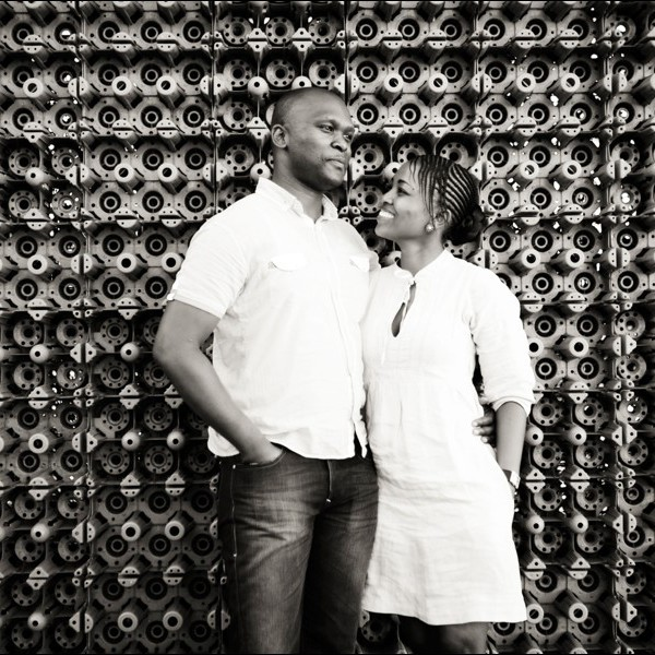 Victor & Zintle - Waterfront Engagement shoot