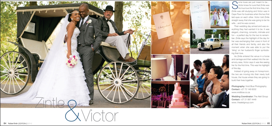 , Nubian Bride Magazine 2012/2013 – Publication, Vivid Blue Photography & Video, Vivid Blue Photography & Video