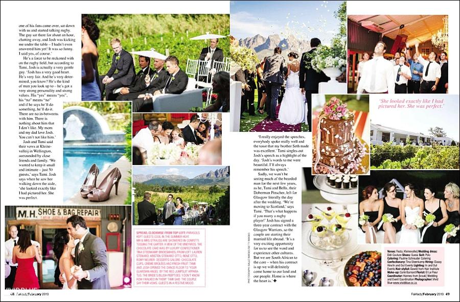 , Fairlady Magazine – Publication, Vivid Blue Photography & Video, Vivid Blue Photography & Video
