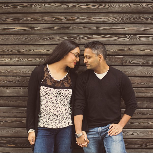 Darren & Meera - London - Engagement shoot