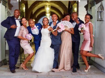 Apoti and Zanele - Val de Vie Wedding