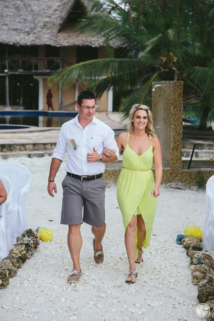 Zanzibar Wedding - Cobus & Cecilia - Vivid Blue ...