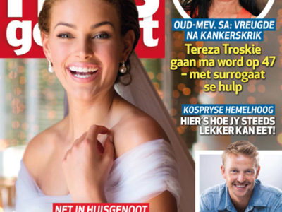 Rolene Strauss & D'Niel - Wedding - Huisgenoot Magazine Feature