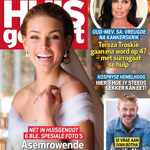 D'Niel & Rolene Strauss Wedding - Huisgenoot Magazine Feature